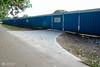 25/08/17 (Dave.Kirwin) Tags: eastleigh eastleighboroughcouncil flemingpark placesforpeople sportscentre fence blue building constructionwork