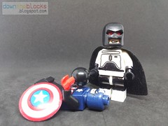Lego Marvel Flag-Smasher (Supervillain) Minifig MOC DTB042 (downtheblocks) Tags: flagsmasher marvel minifig superhero supervillain moc captainamerica lego