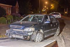 04092017-2796 (Sander Smit / Smit Fotografie) Tags: westersingel appingedam auto boom lantaarnpaal ongeluk ongeval eenzijdig politie ambulance