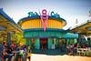 Flo's V8 Cafe (k4eyv) Tags: disneyland california californiaadventurepark californiaorangecounty leicaq flosv8cafe route66