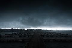 BREAKING DAWN (Vilvesh) Tags: cwc chennaiweekendclickers odisha india monsoon nikond750 tokina1735 travel travelwalk cwctravelwalk chilliklake pier rain nature clouds darkclouds nikon bhubaneshwar