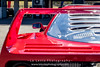 Red-Ferrari-F40-sports-car-in-sydney-by-la-lente-photography-mirror (Paul D'Ambra - Australia) Tags: car red ferrari sportscar redsportscar redferrari vehicle motorvehicle redf40