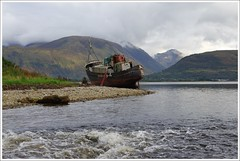 "Corpach Shipwreck (Ben.Allison36) Tags: loch linnhe corpach scotland shipwreck fort william ""the golden harvester"""
