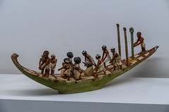 Ancient Egyptian Boat with Crew - 2055-1773BC (Serendigity) Tags: nationalgalleryofvictoria victoria melbourne ngv australia art model boat museum gallery international ancientegypt