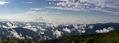 Clouds above the Blue Ridge Mountains (neal.cornwell) Tags: 828 wnc avl asheville mountains landscape blueridgeparkway blueridgemountains clouds panorama sky