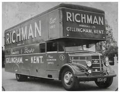 ECA (SemmyTrailer) Tags: eca40 removals richman gillingham kent pantechnicon lorry truck bedford olb