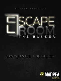 MadPea Escape Room; The Bunker