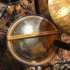 Keeping the Beat (Pennan_Brae) Tags: recordingsession drum rhythm recordingstudio musicphotography musicstudio music recording drummer percussion drums