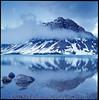 Spring Dawn at Bow Lake (Eason Zhang) Tags: hasselblad500cm kodak expired e100vs rockies