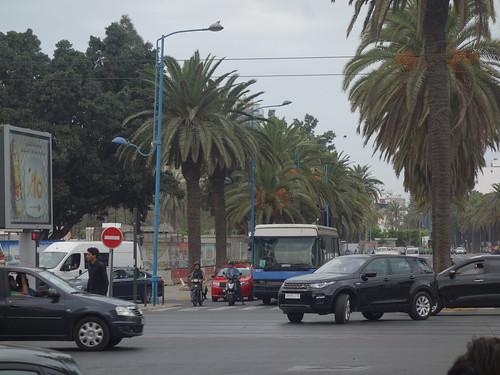 Casablanca est une ville avec beaucoup d'embouteillages...