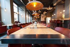 _DSC2029 (fdpdesign) Tags: pizzamaria pizzeria genova viacecchi foce italia italy design nikon d800 d200 furniture shopdesign industrial lampade arredo arredamento legno ferro abete tavoli sedie locali