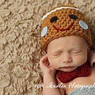 Inspiration For New Born Baby Photography : Christmas     Newborn Gingerbread Man Set Photography Prop... thumbnail