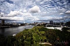 Southbank, Brisbane (SteffBoe) Tags: worldexpo river aerial ferriswheel southbank australia queensland brisbane nationalgeographic ngc