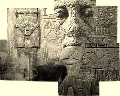 Egyptian and Assyrian (Chris Draper) Tags: head face egypt egyptian collage assyrian museum britishmuseum carving stone texture archaeology archaeological carved monochrome statue sculpture