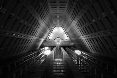 Spiritual Awakening (marco ferrarin) Tags: spiritual awakening light elevator atrium hotel futuristic future tokyo japan parktowertokyo rails buddhism zen satori nirvana