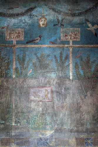 Pompeii, House of the Orchard, Cubiculum