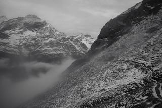 winter feelings @ Europaweg Grächen-Zermatt