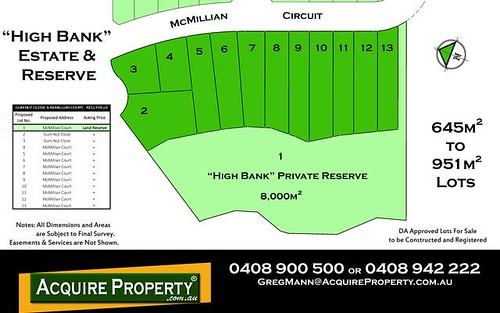Proposed Lot 10 McMillian Circuit, Kellyville NSW 2155
