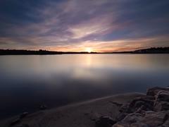 On the beach (Jarno Nurminen) Tags: nisi kivenlahti espoo finland clouds olympusinspired olympus seascape sea longexposure sunset