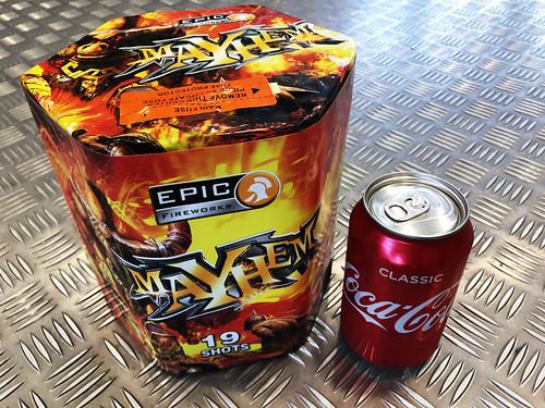 19 Shot Mayhem 1.3G Barrage #EpicFireworks