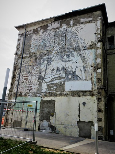 Vhils / Paris - 15 aug 2017