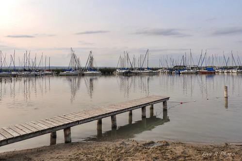 Sailing boats Lake Summer / Vitorlás hajók Tó Nyár