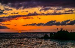 Mahalo (Geno Chauvin) Tags: teamcanon sunset sunrise firstlight seascape landscape maui hawaii ocean blackrock cliffdiving