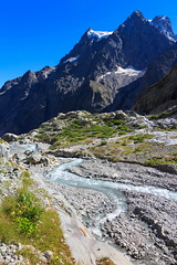 Acqua Viva (Roveclimb) Tags: mountain montagna alps alpi ecrins escursionismo hiking france briancon barredesecrines refugedesecrines pramadamecarlie ailefroide pelvoux glacier ghiacciaio ice glacierblanc