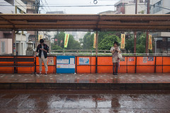 Nagasaki tram (2) (White_Dragon_09) Tags: angenieux retrofocus 3525 r1