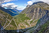 Trollstigen - The Trolls' Path (wheelcorner) Tags: trollstigen troll trolls path andalsnes valldal norwegen norway norge roadtrip holiday nature mountains clouds road canon 5d2 5dmk2 samyang 14mm 28 hdr ngc