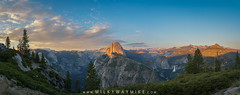 Glacier Point Amphitheater (Mike Ver Sprill - Milky Way Mike) Tags: glacier point amphitheater yosemite california nature landscape photography mike ver sprill michael versprill milky way nikon d800 wide angle sunset clouds road trip amazing