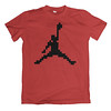 Baller (aledlewis) Tags: tshirtdesign pixels 8bit pixelart pixelated videogames gaming retrogaming nerd geek popculture funny jumpman nikeair airjordan michaeljordan jordans basketball nba hoopdreams