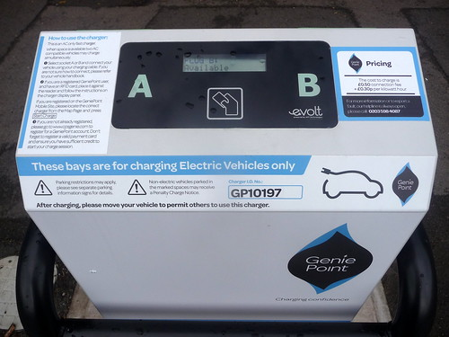 Electric Vehicle Charging Point_The Memorial Park_Earlsdon_Coventry_Jul17