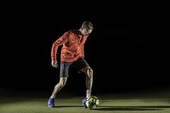 STEVIE (Pete_Dobson) Tags: football soccer skills tricks nike advert commercial freestyle moody studio nikon d750 50mm 14 sb900 su800