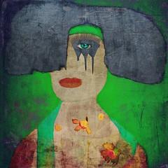 Reality doesn't impress me ~ 1 (lorenka campos) Tags: selfportrait self portrait faces conceptual color popart modernart art artdigital