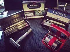 1940-60's Gillette DE Safety Razors
