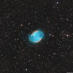 M27 (imaging season opening test) (Olli Arkko) Tags: messier 27 m27 deep sky space dslr astro astrophotography stars nebula nebulae planetary emission night dark astrometrydotnet:id=nova2198677 astrometrydotnet:status=solved