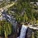 A Look Down onto Vernal Falls Along the John Muir Trail (Portrait Orientation)