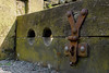 FX305301-1 The village stocks, Norland, u.k. (Lawrence Holmes.) Tags: fuji x30 pillory stocks norland sowerbybridge westyorkshire uk calderdale lawrenceholmes