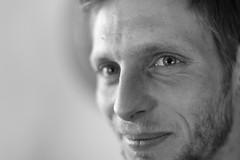 Eric (StellaMarisHH) Tags: europa deutschland niedersachsen sw mann portrait auge scharf unscharf fokus offenblende canon canoneos5dmkii eos5dmkii 5dmkii 5014 50mm lightroom