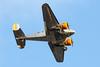 N184KP Beech 18 (markyharky) Tags: n184kp beech 18 beech18 beechcraft beechexpeditor ca130 glasgow airport glasgowairport aircraft aviation avgeek