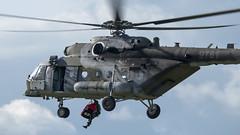 Mil Mi-171Sh Baikal - 9781 (danstephenlewington) Tags: czech air force mi171 biggin hill airshow helicopter hip mi17