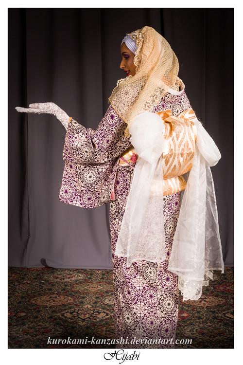 Hijabi Kurokami Tags Toronto Ontario Canada Kimono Japan Japanese Asia Asian Woman Women