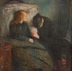 Edvard Munch, The Sick Child, 1896 (Sharon Mollerus) Tags: edvardmunchbetweentheclockandthebedexhibit sfmoma sanfranciscomuseumofmodernart sanfrancisco california unitedstates us cfptig17