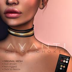 Avanti @ Cosmopolitan: Chloe Choker (Intoxicate @ Second Life) Tags: avanti accessories chic designingsl 3d fashion fantasy glam culture ethnic jewelry gypsy cosmopolitan mesh new original sl style secondlife virtualreality