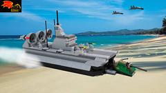 Chinese Zubr-class LCAC (Eínon) Tags: zubr china soviet union cold war crimea greece lcac landing craft hovercraft