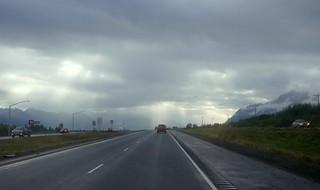 Autumn rains begin . . .