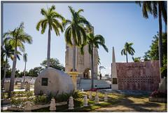 Cuba 2016 - Santiago de Cuba - Fidel (Ulster79) Tags: denkmal himmel kunst pflanzen art cemetery flora graveyard memorial monument outdoor palmtree sky santiagodecuba cuba cu
