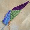 The periwinkle crochet piece joined to its compatriots (crochetbug13) Tags: crochet crocheted crocheting crochetbug crochetcrazyquilt crochetfan crochetafghan crochetblanket crochetthrow embroidery embroideredcrochet