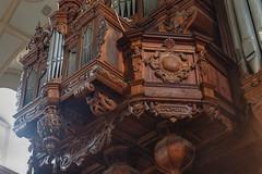 Organy (jacekbia) Tags: europa polska poland kazimierzdolny kościół church organy drewniany wooden wnętrze indoor muzyka canon 1100d